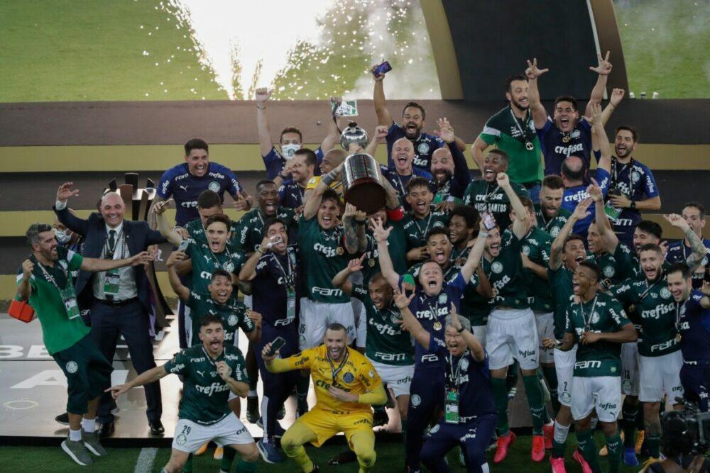 Palmeiras, campeão da Libertadores