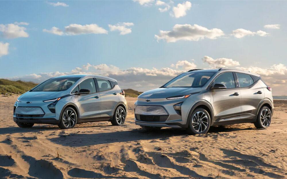 Novo Chevrolet Bolt EV 2022 e Bolt EUV