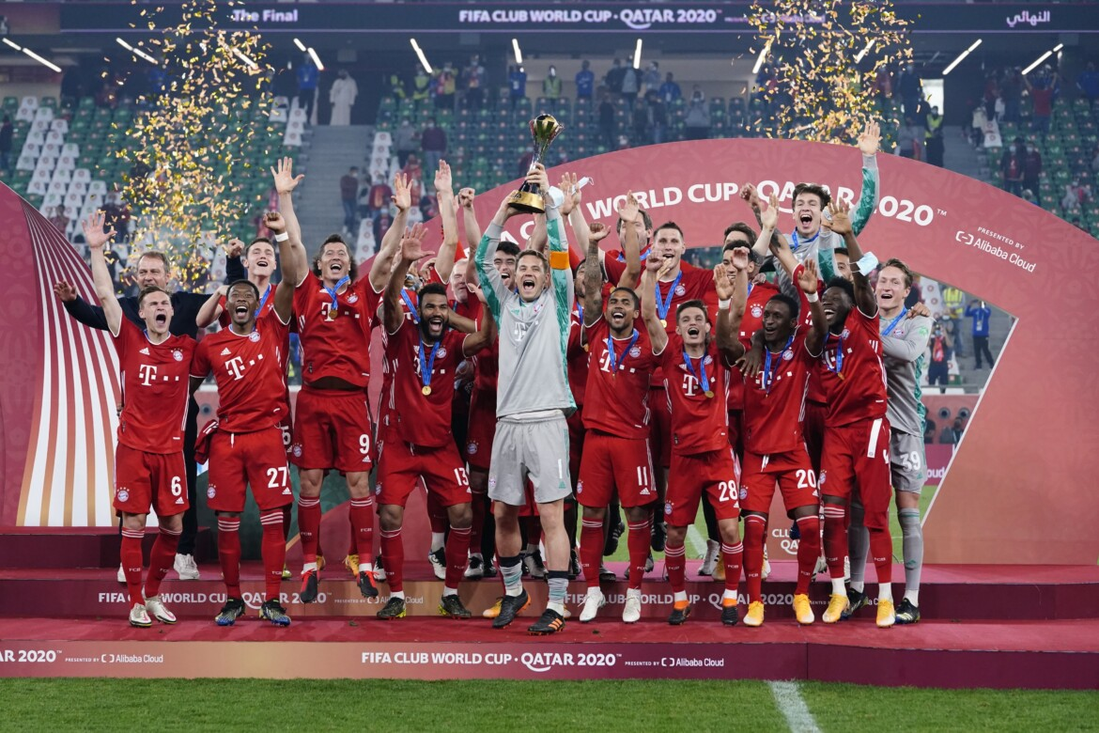 Bayern, campeão mundial