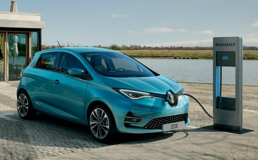 Renault Zoe 100% elétrico