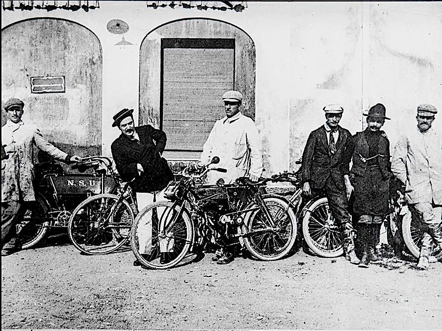 Fundadores da Guzzi