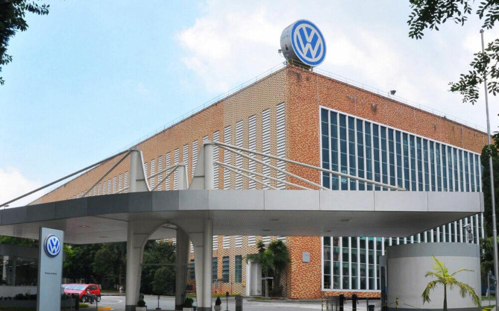 Fábrica da Volkswagen em São Bernardo