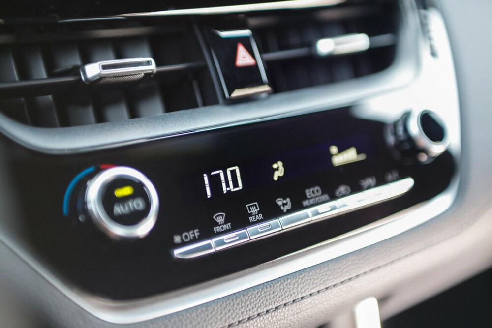 Ar-condicionado do Toyota Corolla Cross