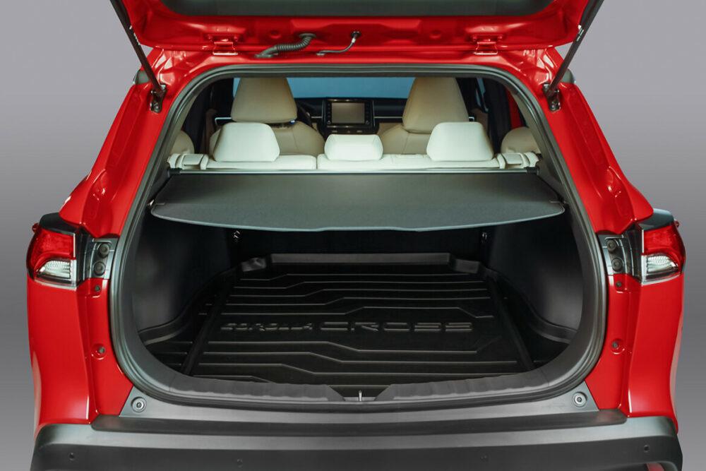 Porta-malas do novo Toyota Corolla Cross
