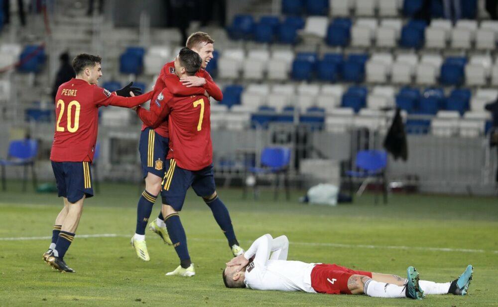 Espanha venceu a Georgia com gol no fim