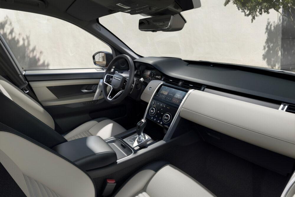 Interior da Land Rover Discovery Sport
