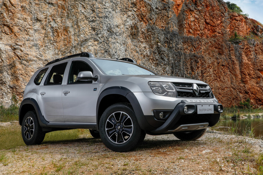 Renault Duster GoPro