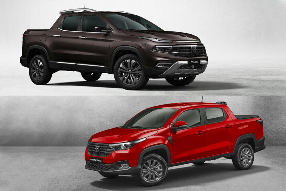 Nova Fiat Toro e Nova Strada