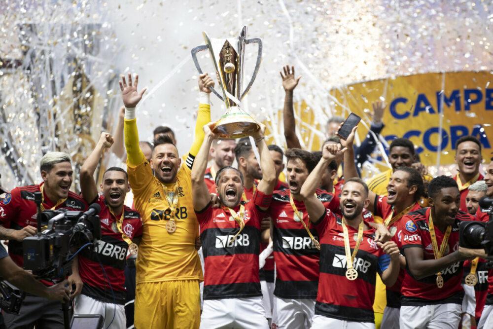 Flamengo campeão da SuperCopa Kia 2021