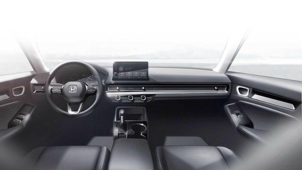 Protótipo do Honda Civic 2022