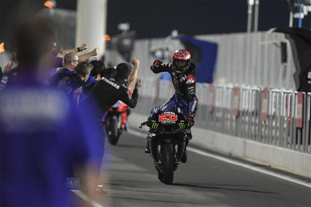 Quartararo vence o GP de Doha da MotoGP