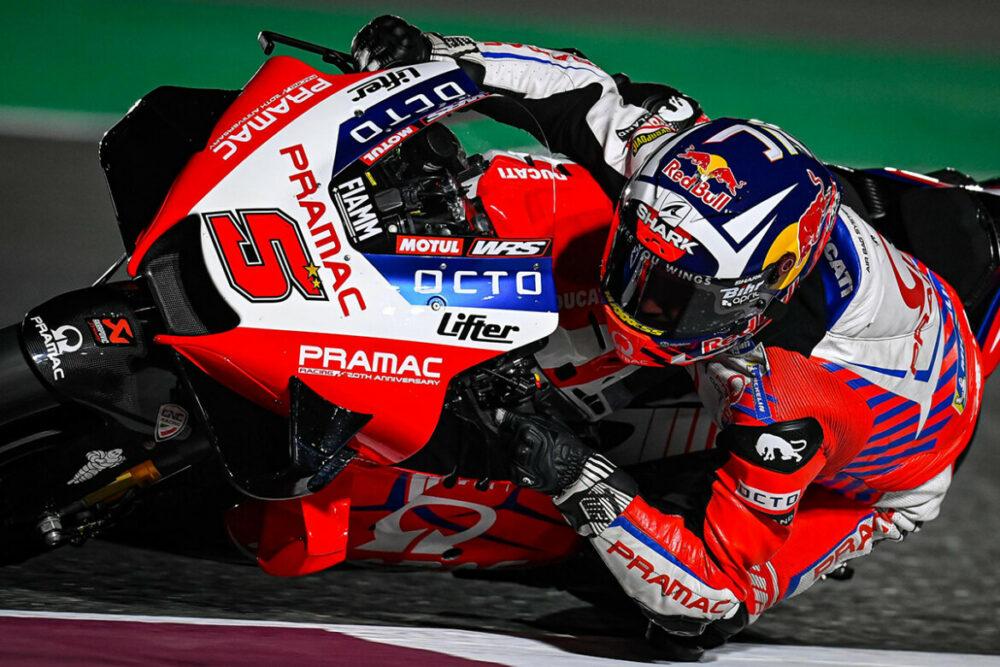 Johann Zarco no GP do Qatar