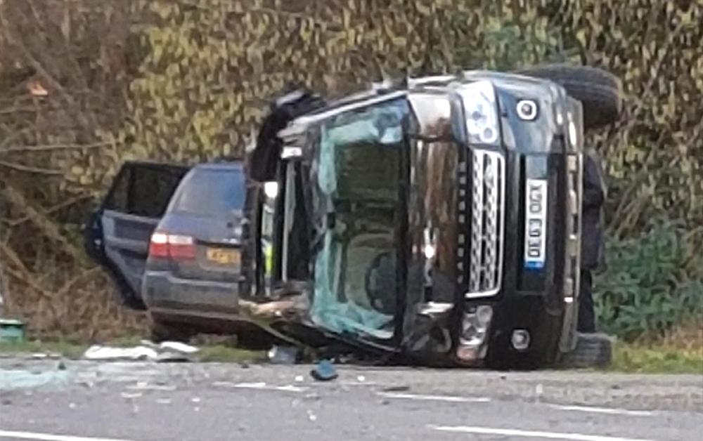 Principe Philip capotou uma Land Rover Freelander em 2019