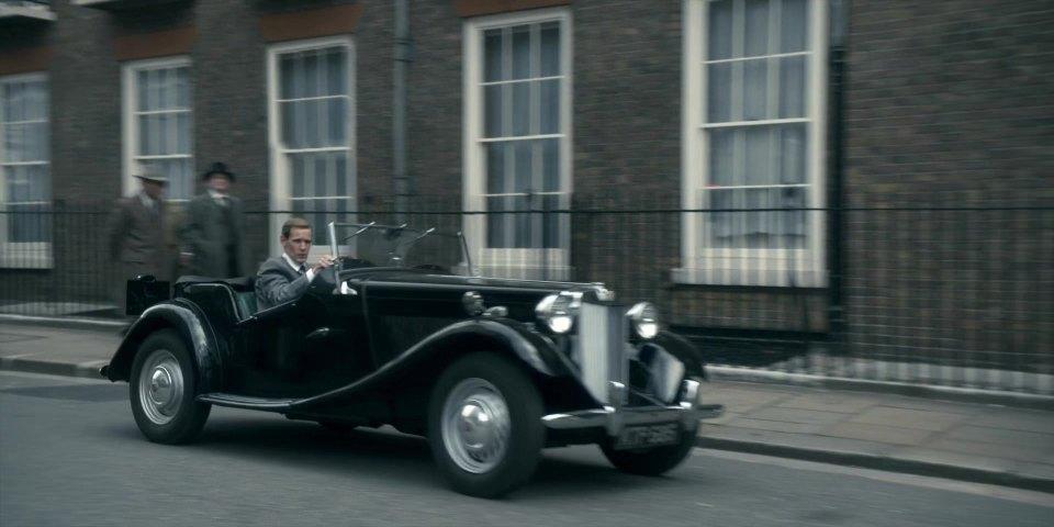 MG TD 1953 - The Crown