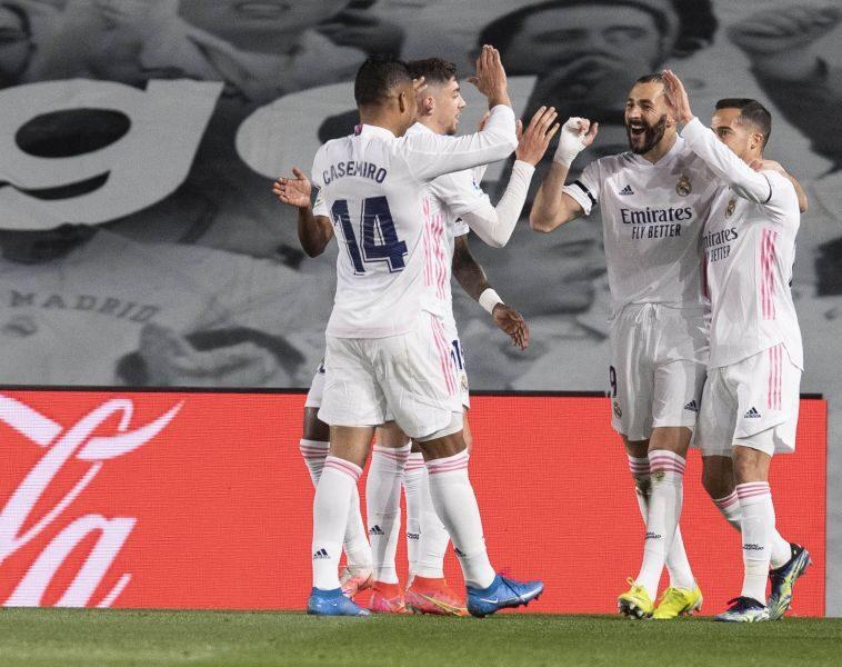 Benzema abriu o placar da partida