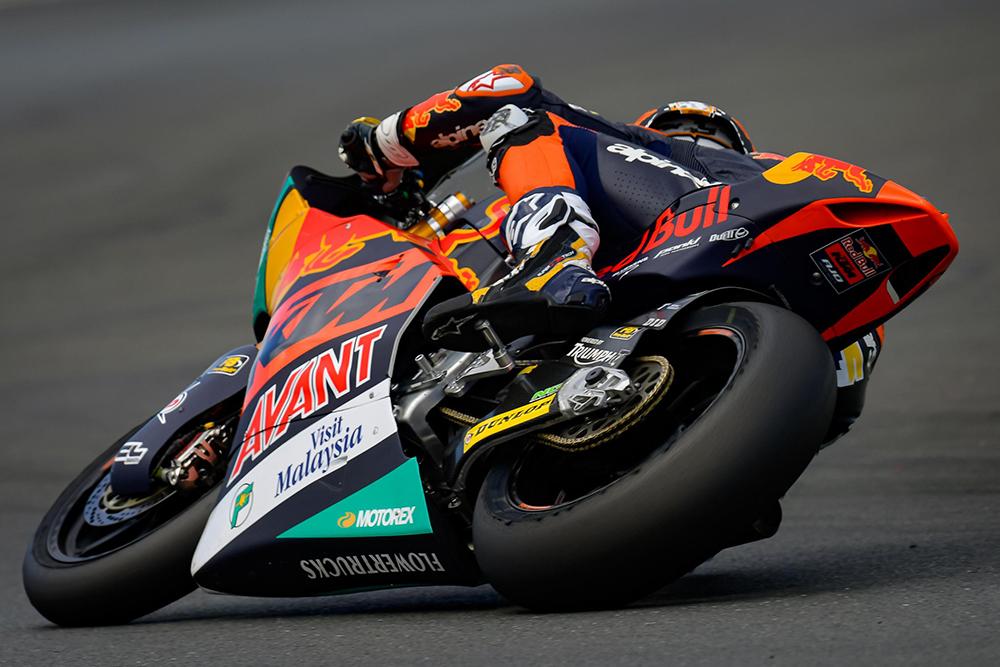Raul Fernandez na Moto2