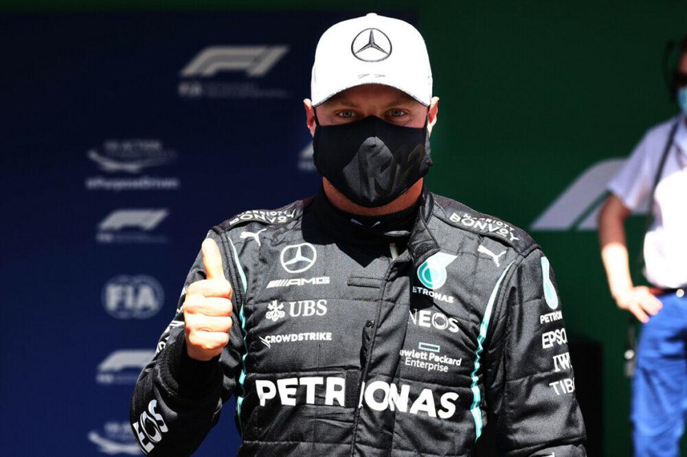 Valtteri Bottas é pole position no GP de Portugal da F1