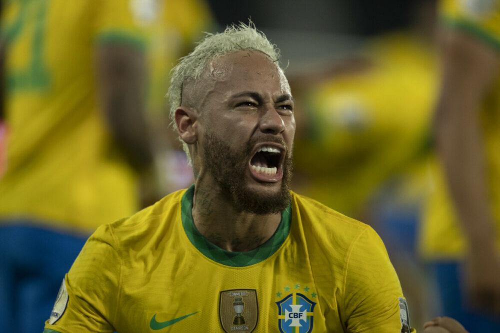Neymar foi destaque da Seleção
