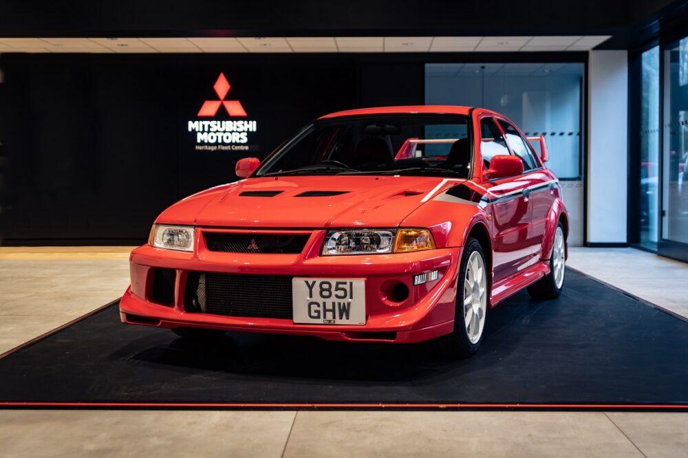 Mitsubishi Lancer Evolution VI Tommi Mäkinen Edition