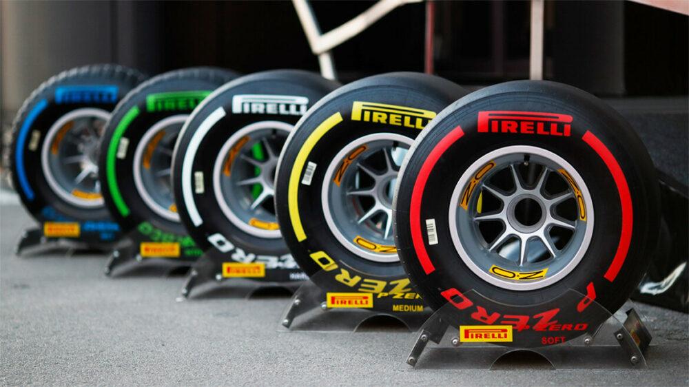 Pneus Pirelli da Fórmula 1 para 2021