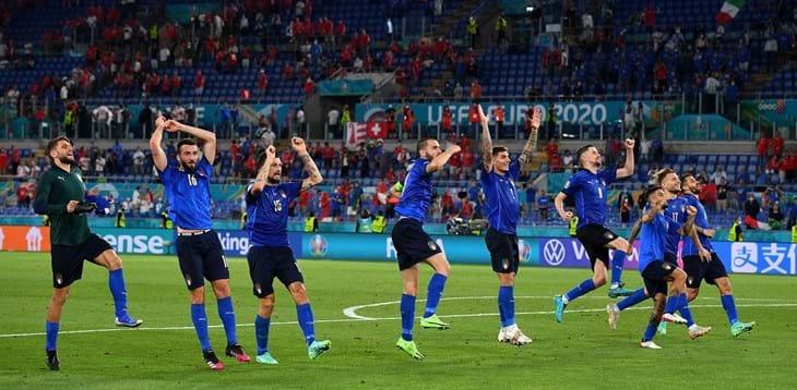 Itália celebra vitória