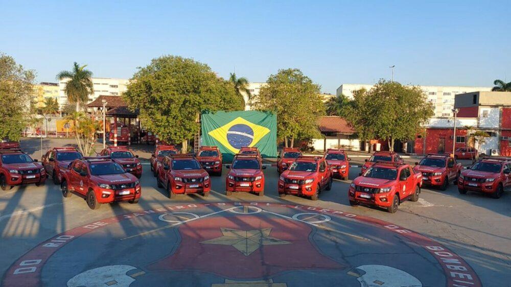 Nissan Frontier é entregue para os Bombeiros do RJ