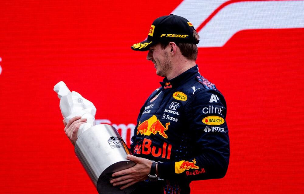 Max Verstappen no GP da França