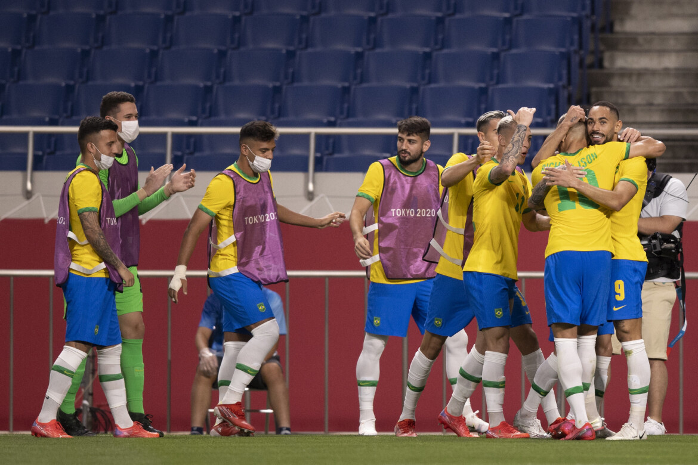 Matheus Cunha e Richarlison foram destaques do Brasil