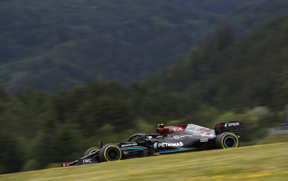 Bottas no GP da Áustria de F1