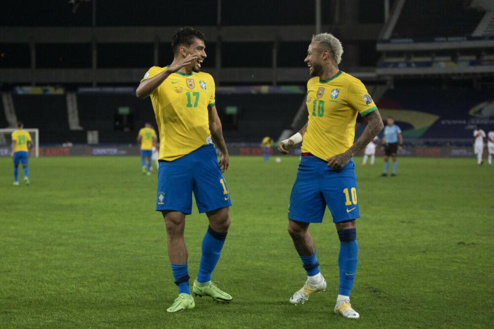 Brasil bate o Peru