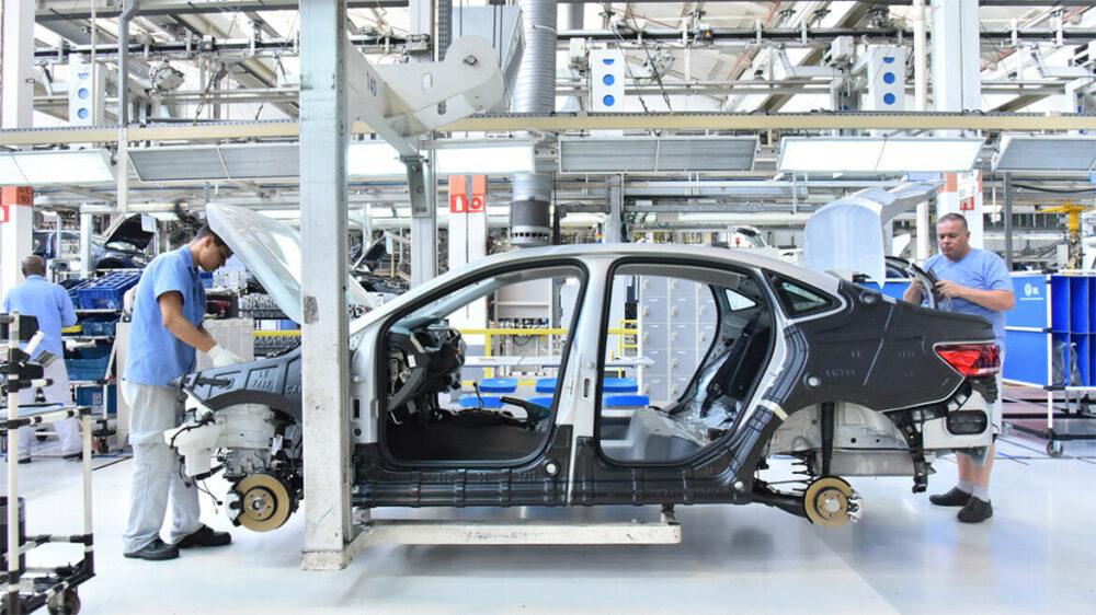 Fábrica da VW