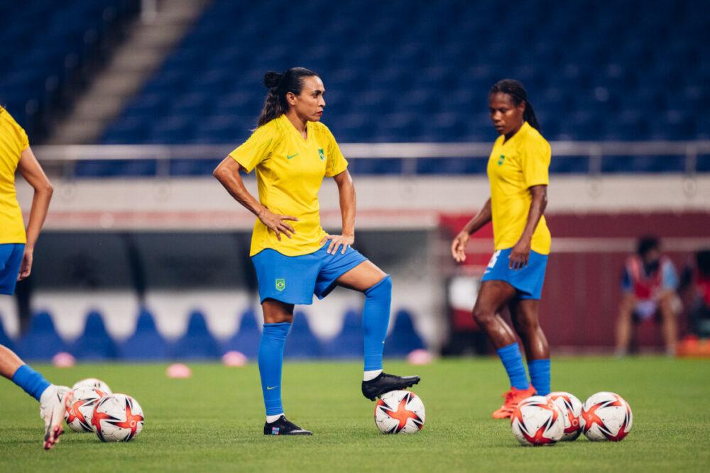 Marta e Formiga são destaques daSeleção feminina