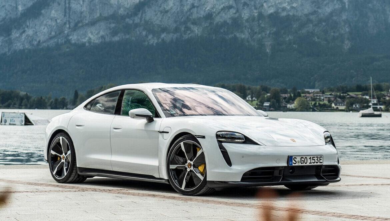 Porsche Taycan eletrico