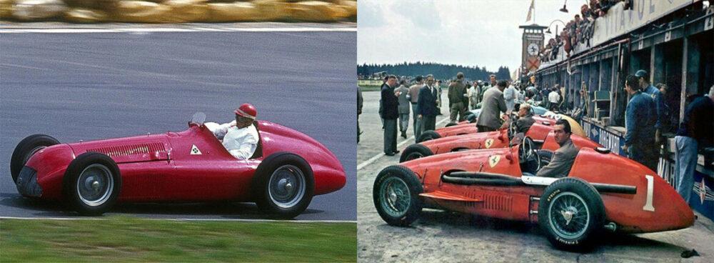Alfetta 158 e Ferrari 500