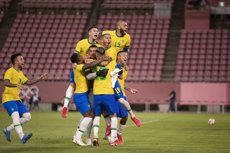 Brasil avançou nos pênaltis