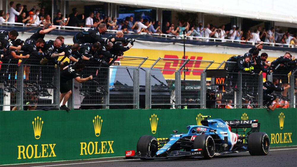 Ocon vence o GP da Hungria de 2021