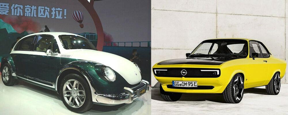ORA Cat Punk e Opel Manta GSe