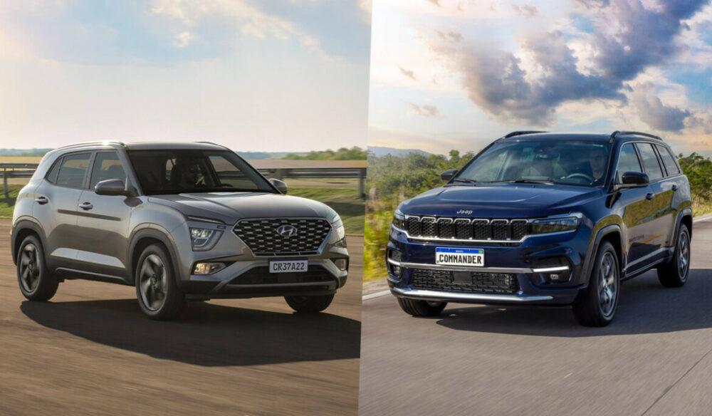 Novo Hyundai Creta e Jeep Commander
