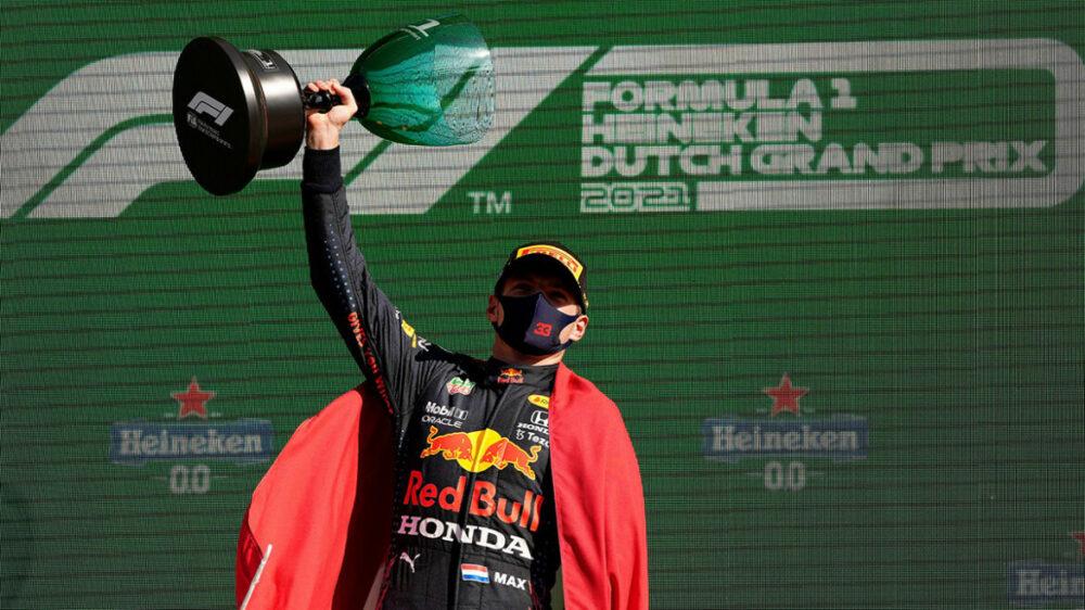 Verstappen vence o GP da Holanda