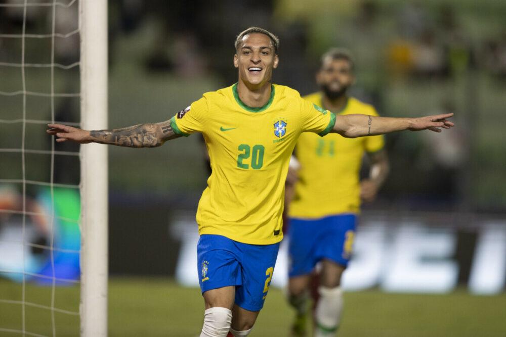 Anthony estreou bem pelo Brasil